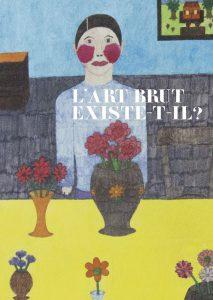 Affiche du colloque sur l'art brut